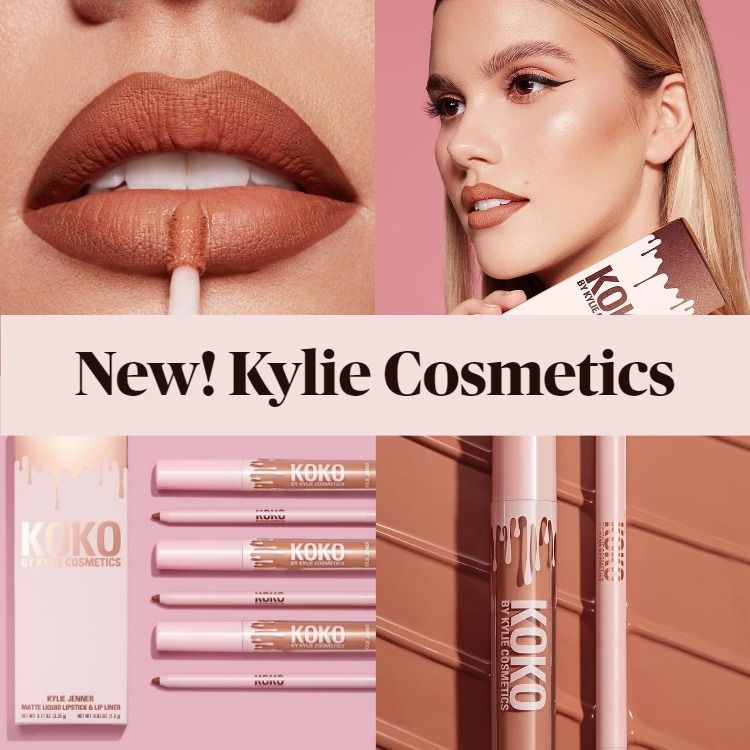 New Makeup! Kylie Cosmetics Handbag Ho Matte Lip Kit