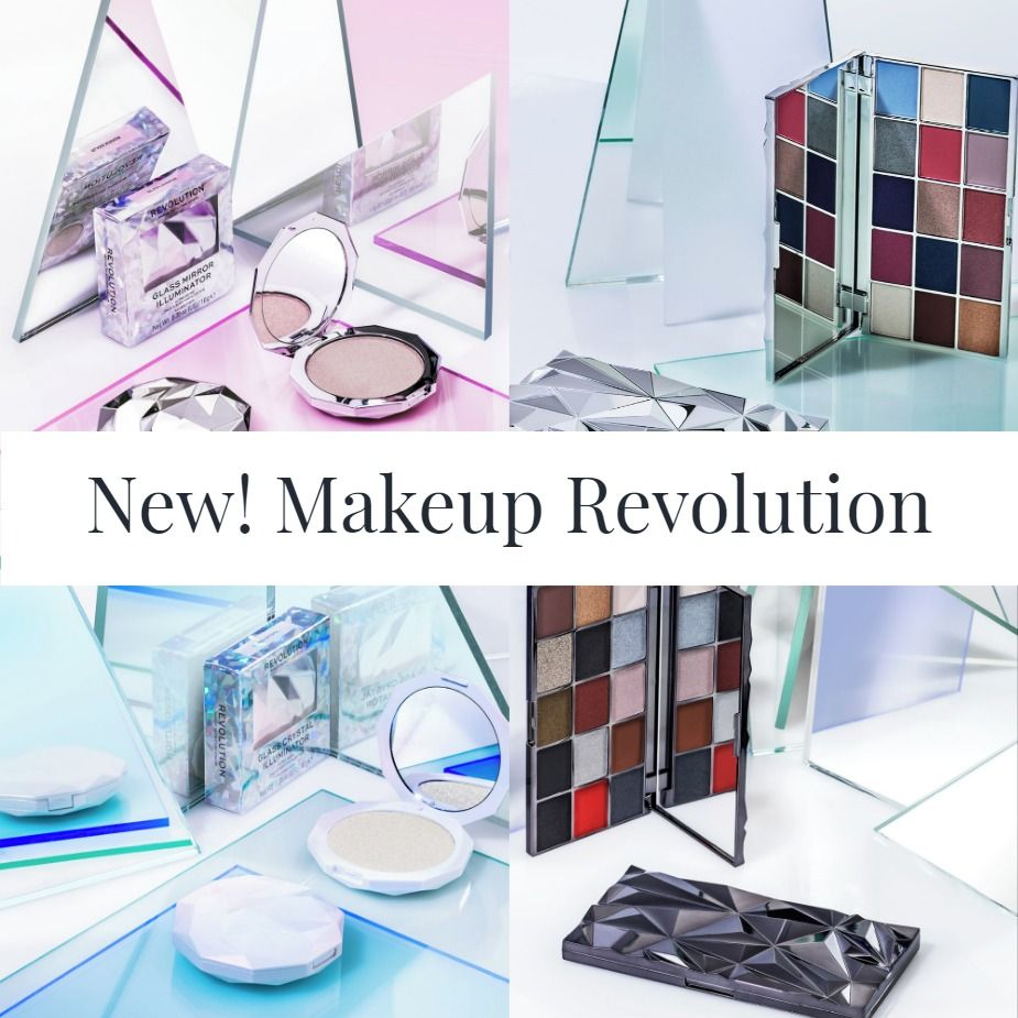 New! Makeup Revolution Glass Skin Collection