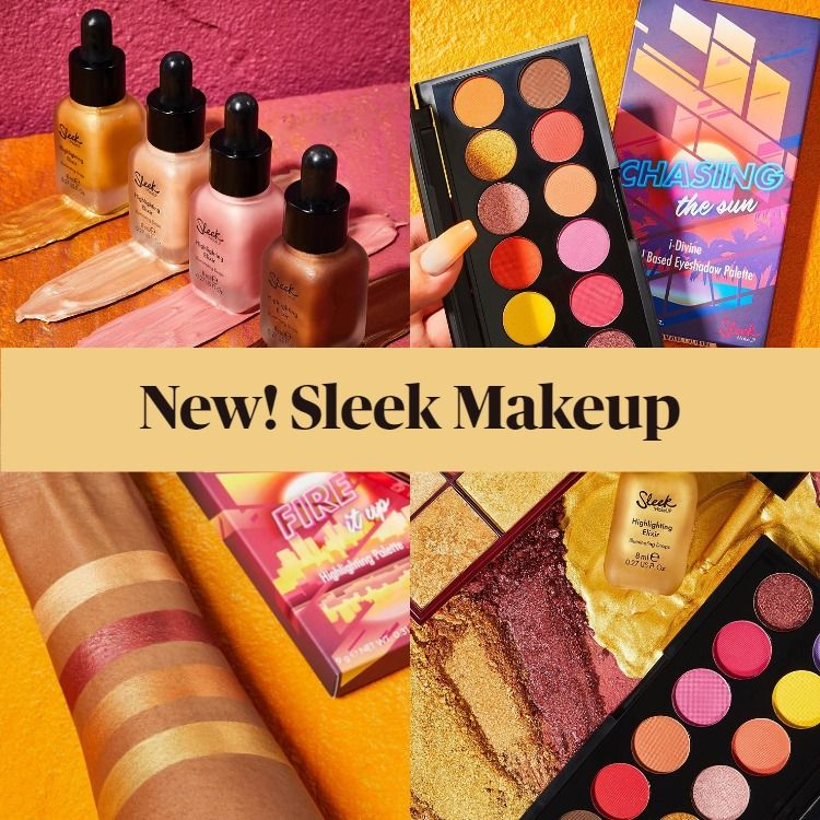 New! Sleek Makeup Sunset Vibes Collection