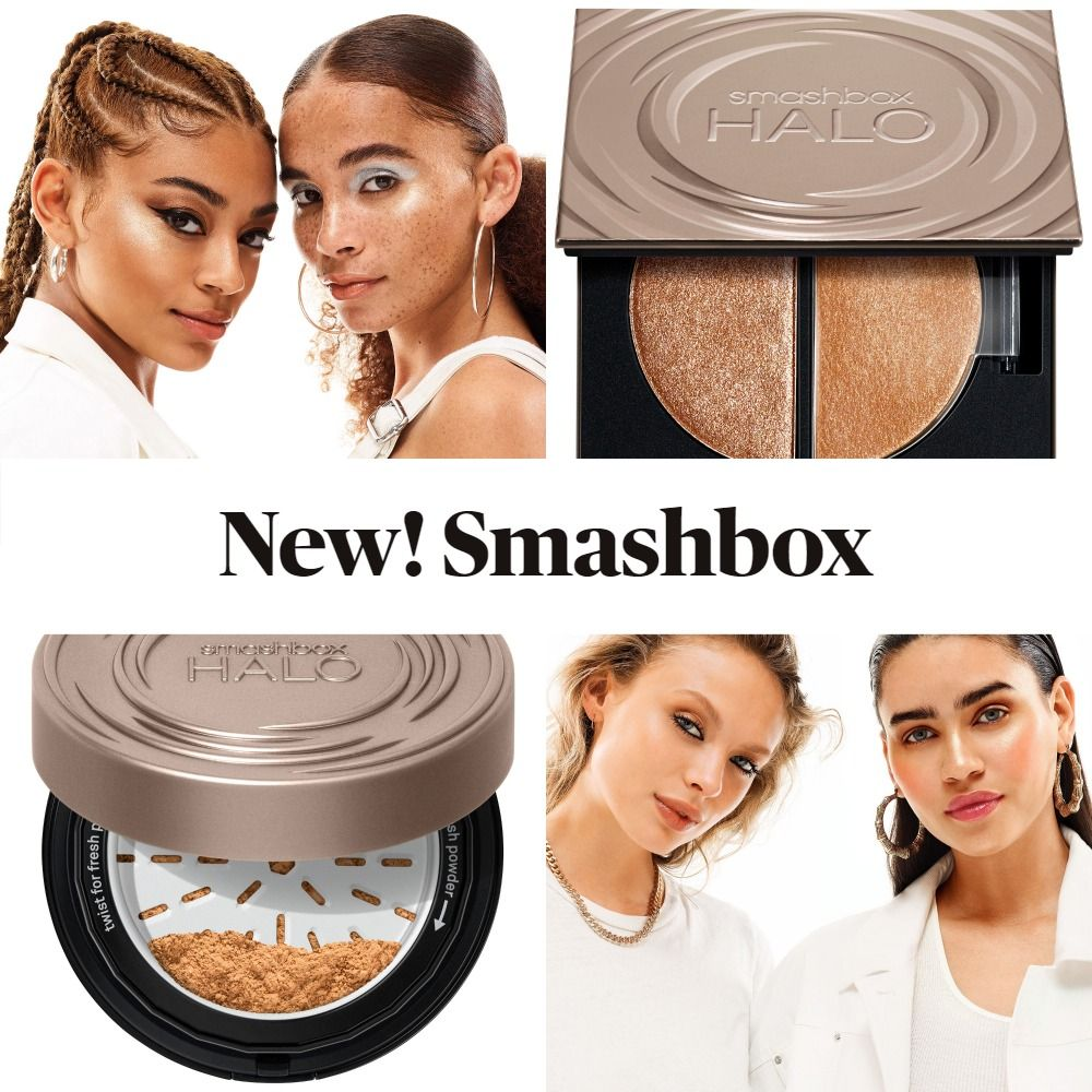 Coming Soon! Smashbox Halo Glow Highlighter Duo and Fresh Perfecting Powder Foundation