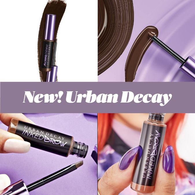 New Makeup! Urban Decay Inked Brow Longwear Brow Gel