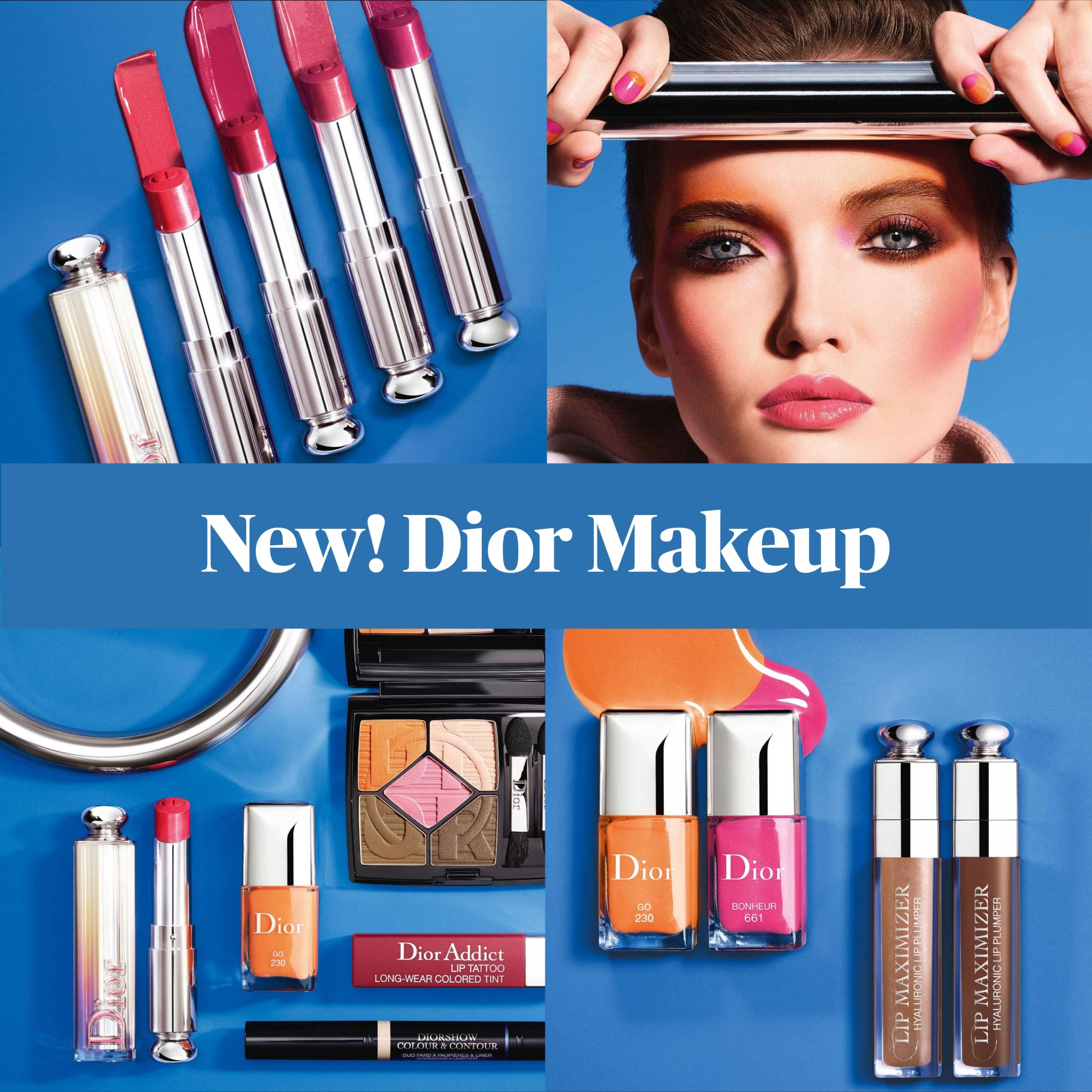 Coming Soon! Dior Makeup Color Games Summer 2020 Collection