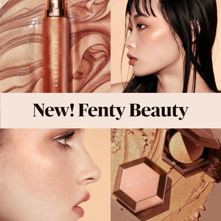 Fenty Beauty Summer 2020 Cognac Candy Body Lava and Diamond Bomb