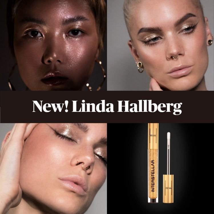 New! Linda Hallberg Interstellar Liquid Eyeshadow