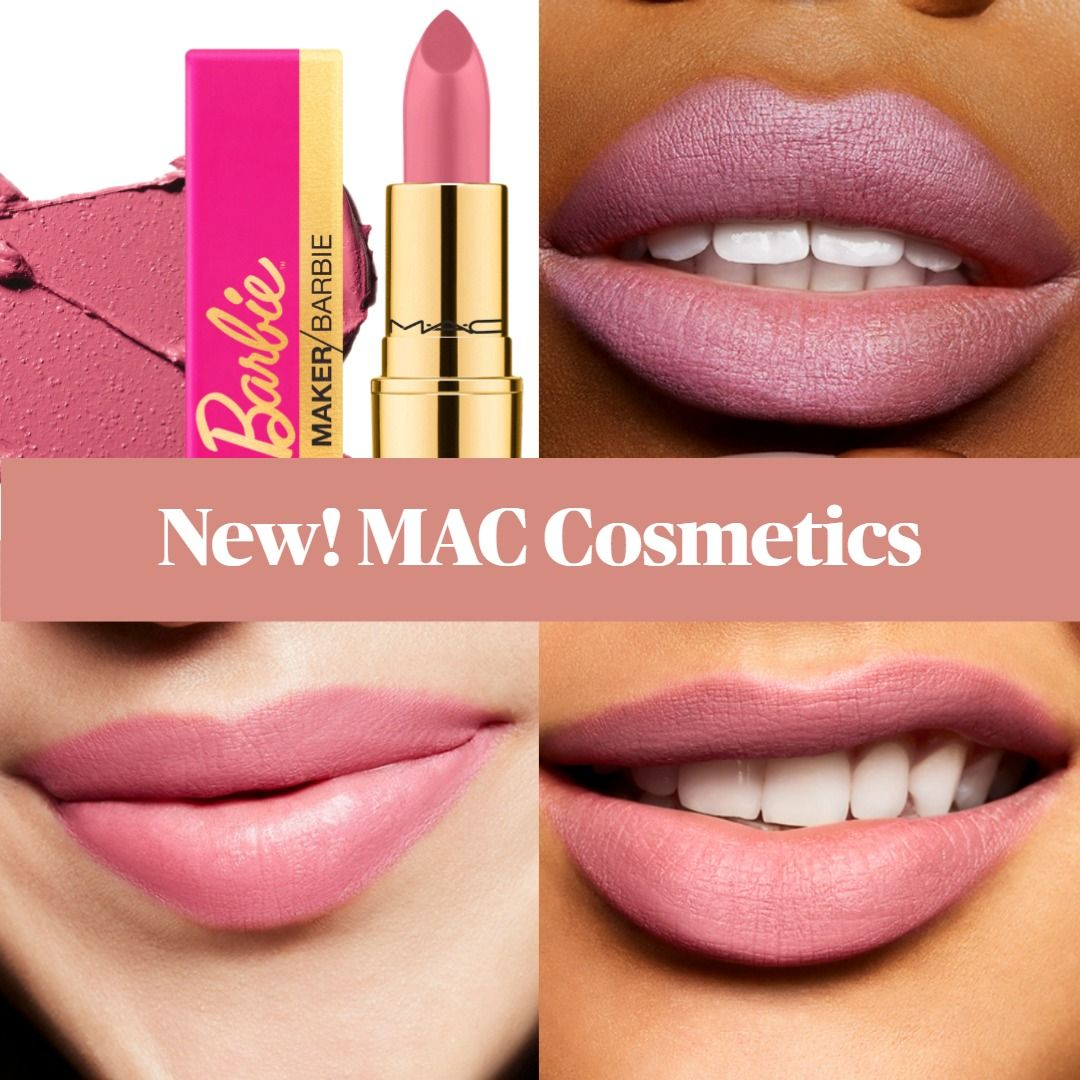 New! MAC Maker Barbiestyle Lipstick