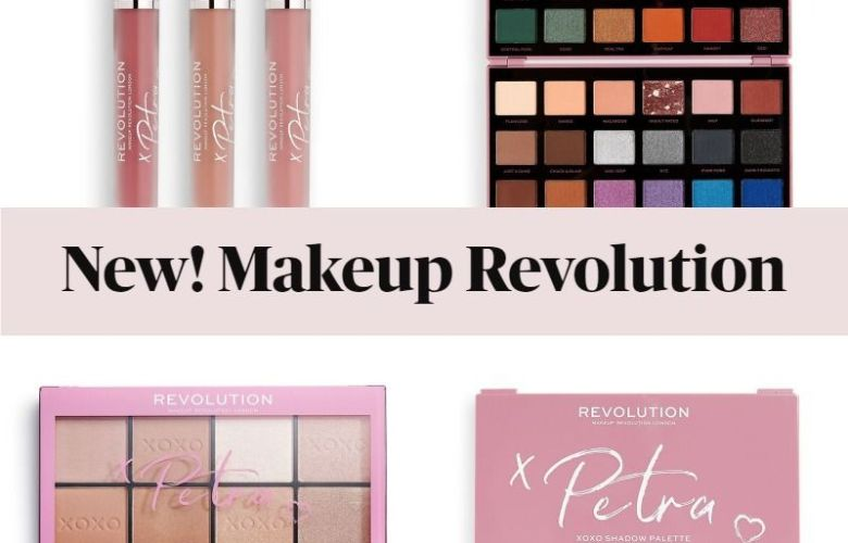 Makeup Revolution Petra XOXO Collection