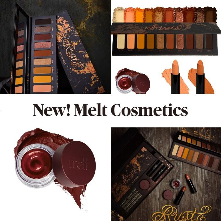 Melt Cosmetics Rust Collection