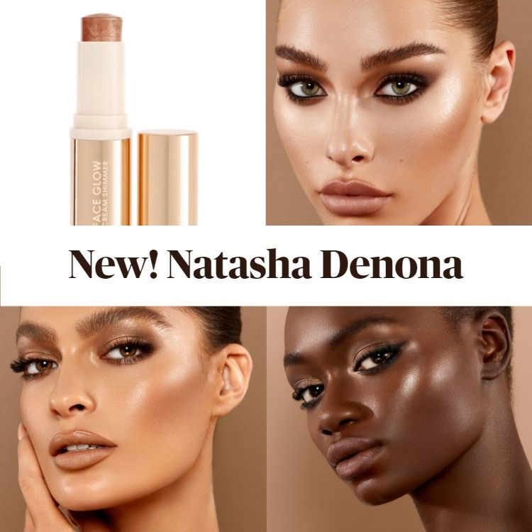 New! Natasha Denona Face Glow Cream Shimmer