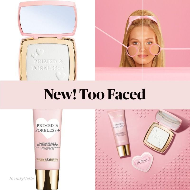 Get The Scoop On The New Too Faced Primed & Poreless Face Powder and Primer