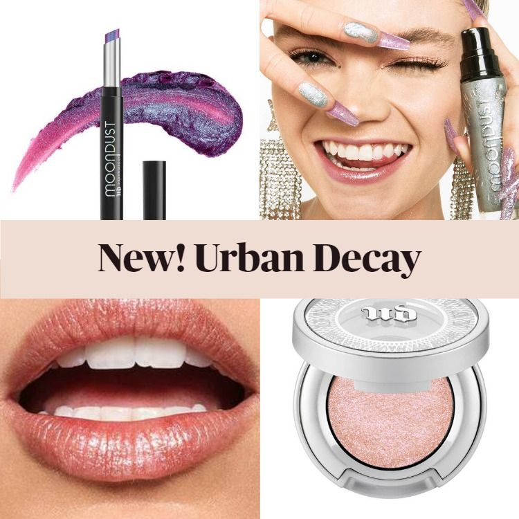 New Makeup! Urban Decay Moondust Collection