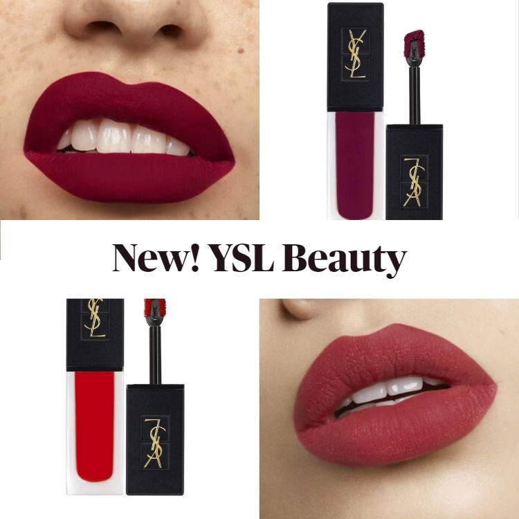 Get To Know The New YSL Beauty Tatouage Couture Velvet Cream Liquid Lipstick