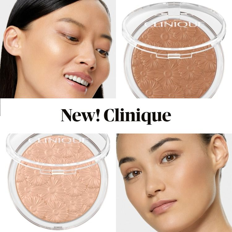 New! Clinique Powder Pop™ Flower Highlighter and Bronzer