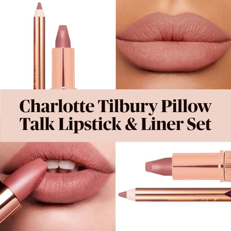 new charlotte tilbury mini pillow talk