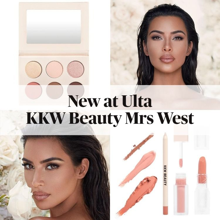 Now at Ulta!  KKW Beauty Mrs West Collection