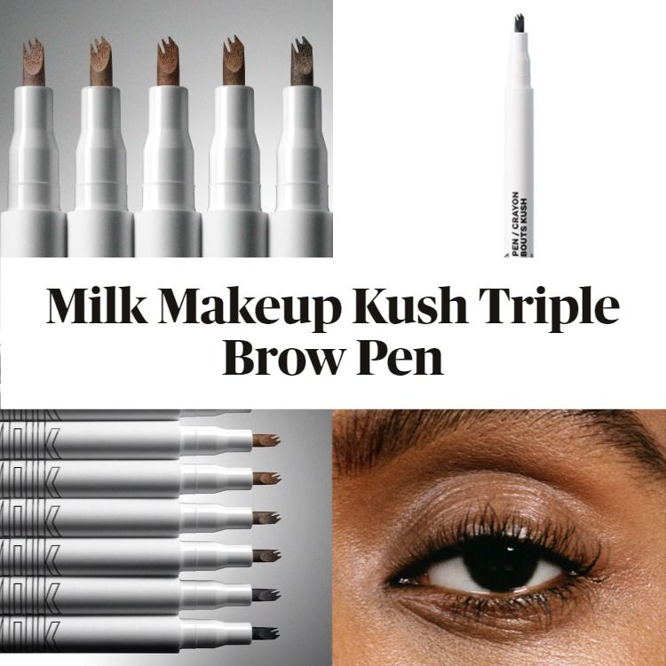 New! Milk Makeup Kush Triple Brow Pen