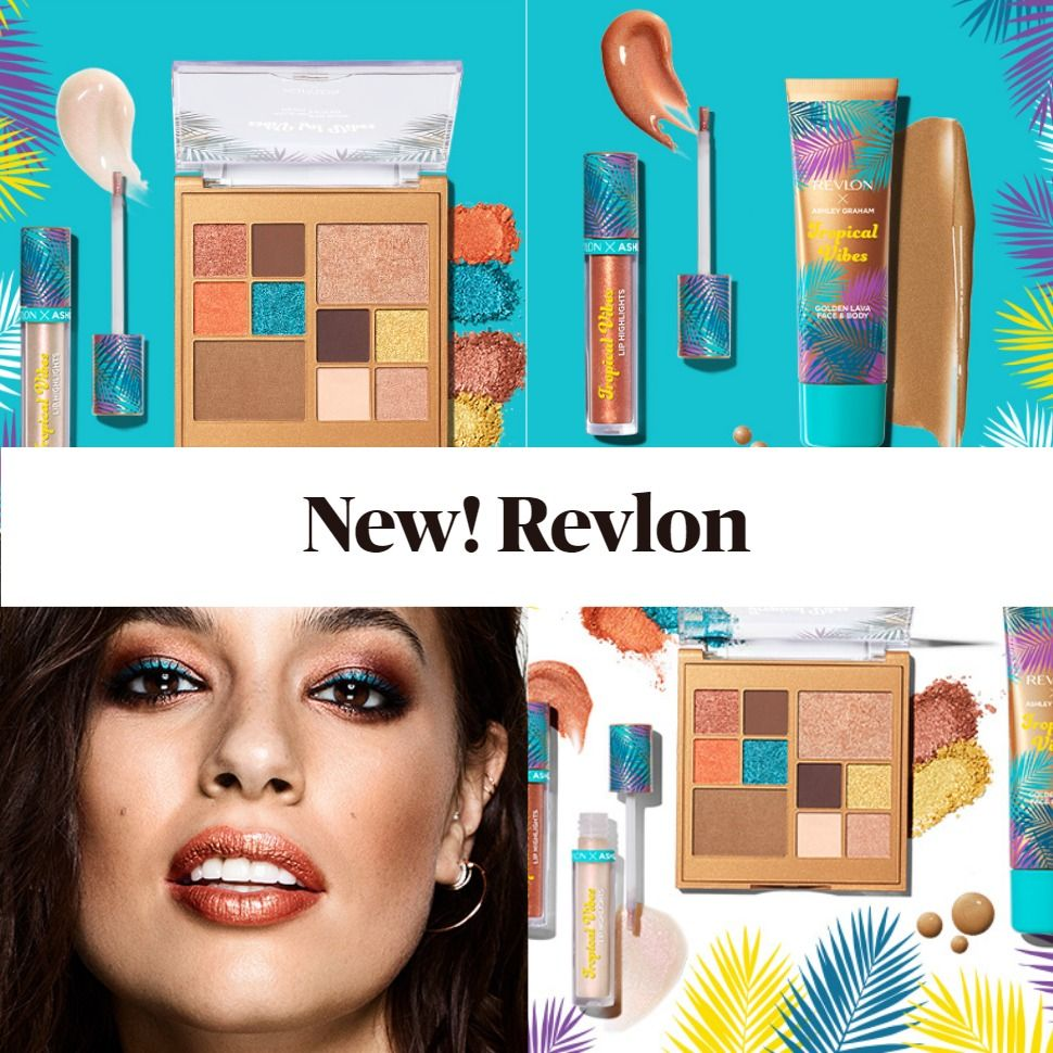 Revlon x Ashley Graham Tropical Vibes Collection