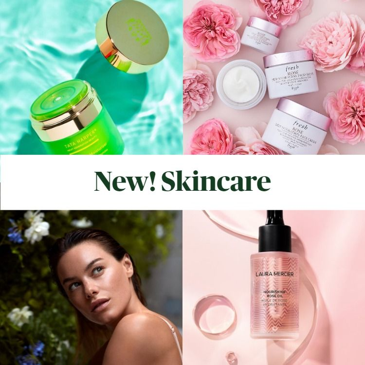 New Skincare! Laura Mercier, Fresh Beauty, Tata Harper