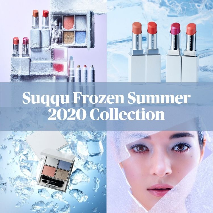 Sneak Peek! Suqqu Frozen Summer 2020 Collection
