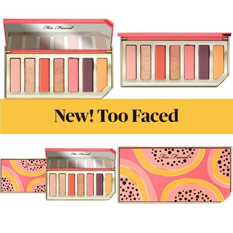Get The Scoop On The New Too Faced Papaya Eyeshadow Palette