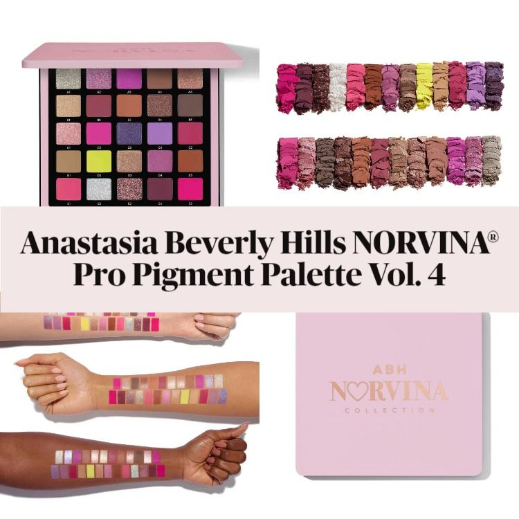 Get The Scoop On The New Anastasia Beverly Hills NORVINA® Pro Pigment Palette Vol. 4