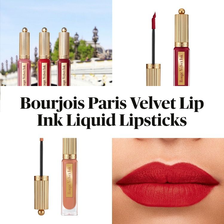 New! Bourjois Paris Velvet Lip Ink Liquid Lipsticks