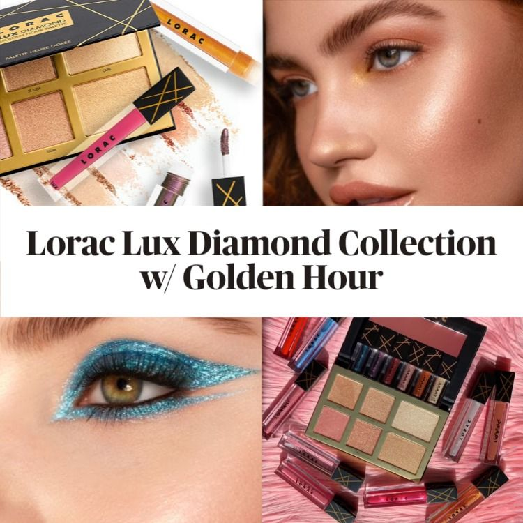 New! Lorac Lux Diamond Collection featuring the Golden Hour Palette