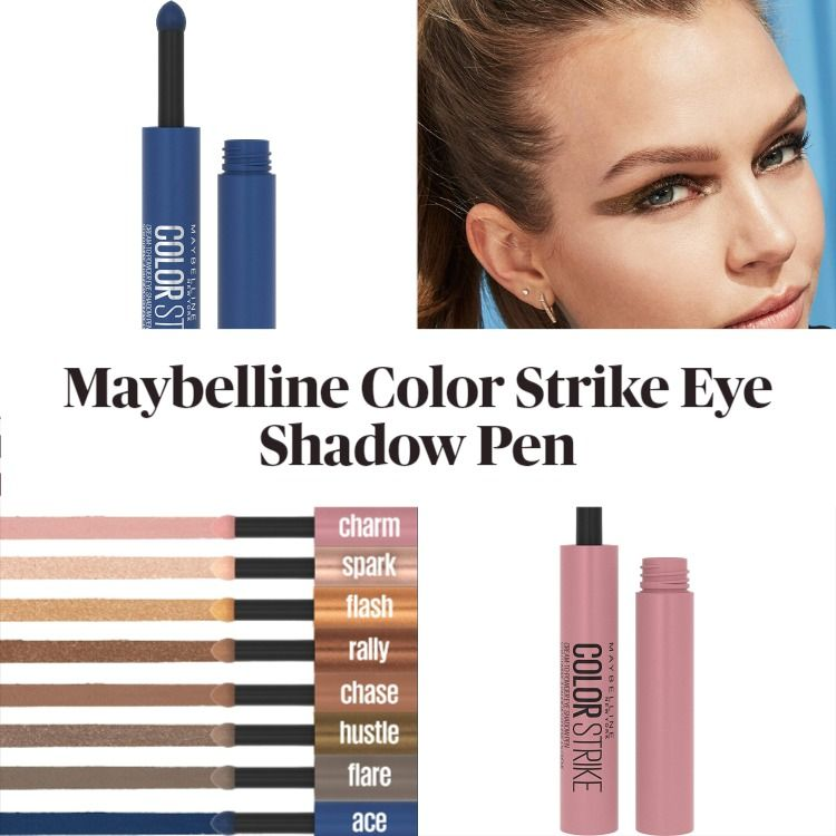 New! Maybelline Color Strike Eye Shadow Pen