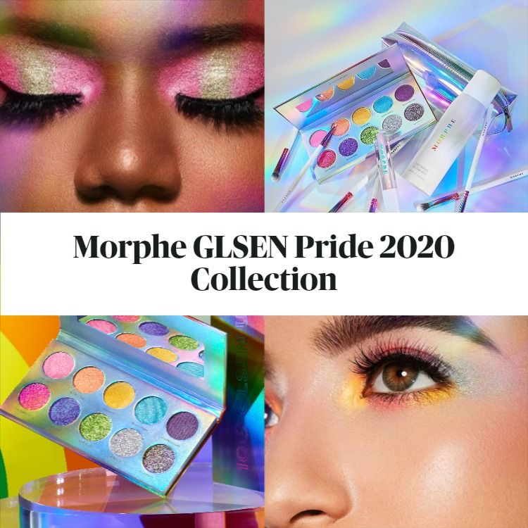 Get The Scoop On The New Morphe x GLSEN Pride 2020 Collection Free To Be You