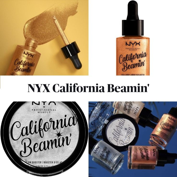 New! NYX California Beamin' Face & Body Liquid Highlighter and Glow Booster