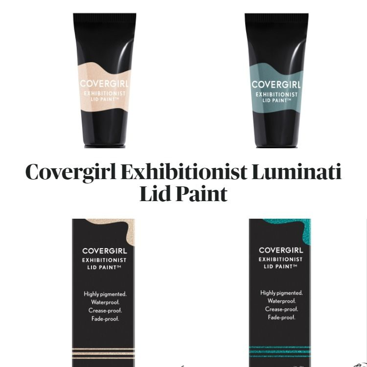 New! Covergirl Exhibitionist Luminati Lid Paint