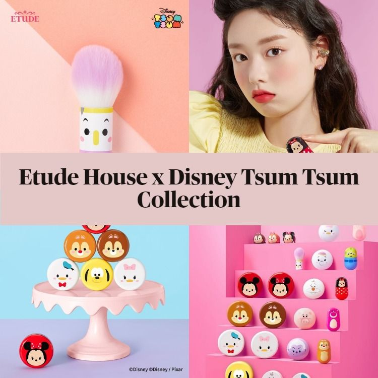 New Etude House x Disney Tsum Tsum Collection