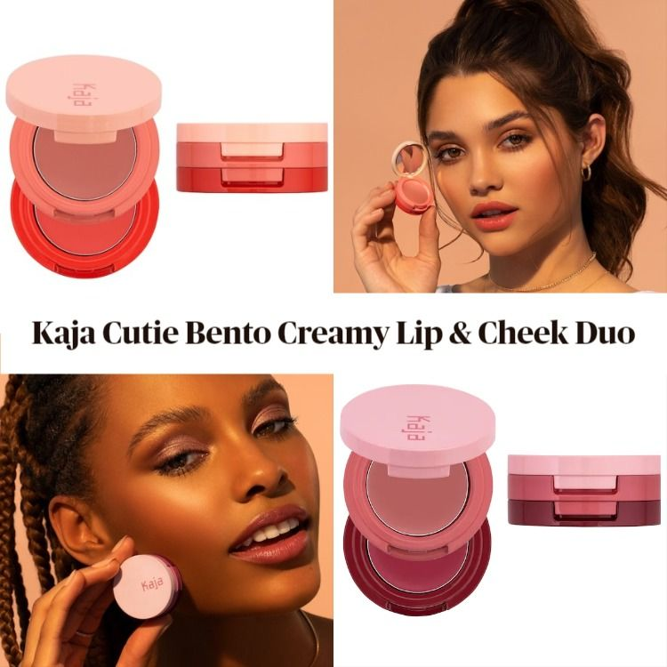 New! Kaja Cutie Bento Creamy Lip & Cheek Duo