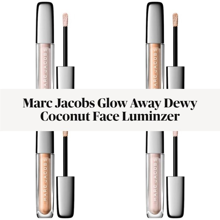 New! Marc Jacobs Glow Away Dewy Coconut Face Luminzer