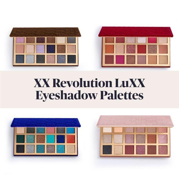 New! XX Revolution LuXX Eyeshadow Palettes