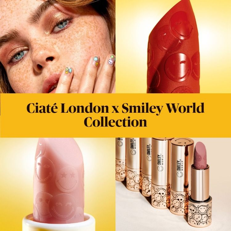 New! Ciaté London x Smiley World Collection