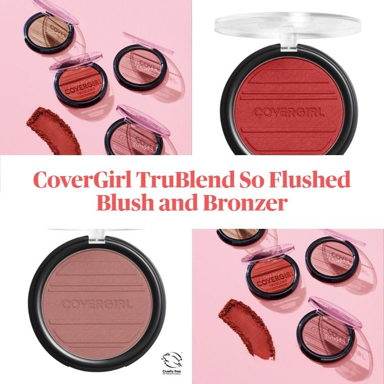 New! CoverGirl TruBlend So Flushed Blush and Bronzer
