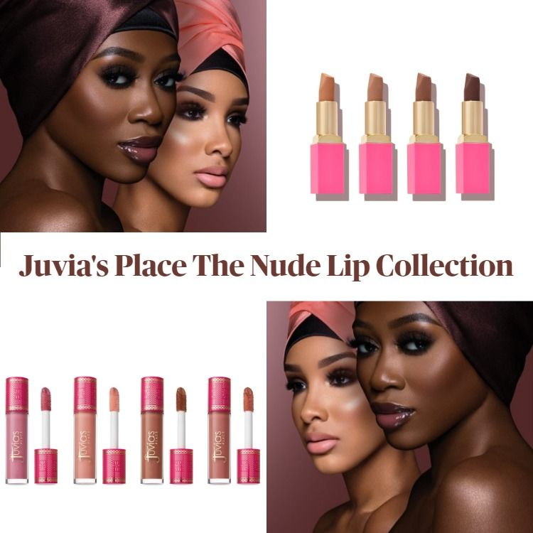 New! Juvia's Place The Nude Lip Collection