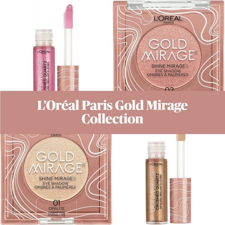 New! L'Oréal Paris Gold Mirage Limited Edition Makeup Collection