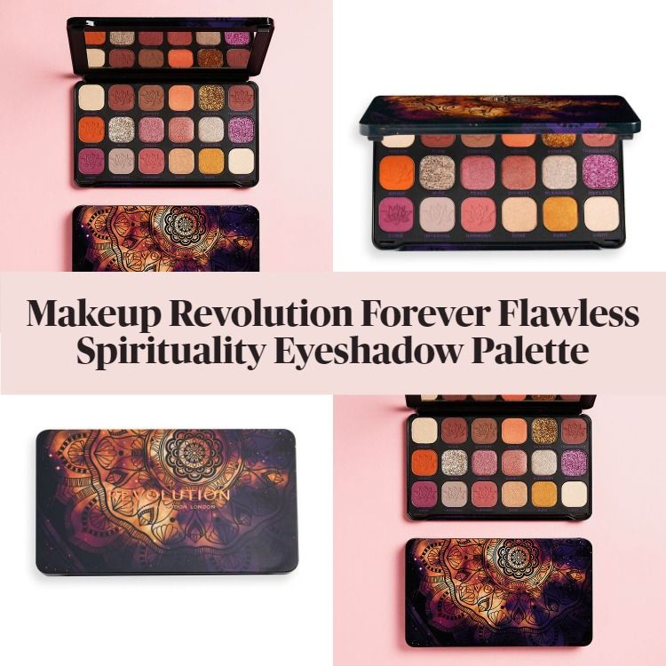 New! Makeup Revolution Forever Flawless Spirituality Eyeshadow Palette