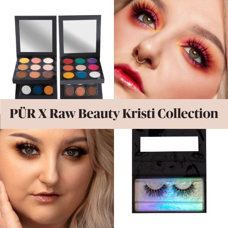 Sneak Peek! Pur Cosmetics x RawBeautyKristi Collection