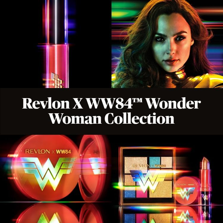 New! Revlon X WW84™ Wonder Woman Collection