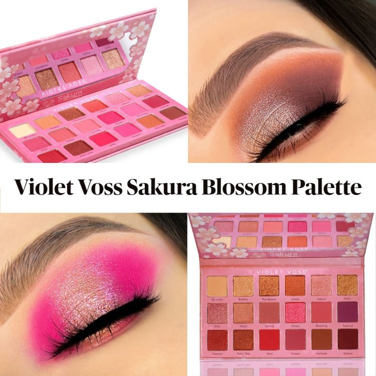 New! Violet Voss Sakura Blossom Eyeshadow and Pressed Pigment Palette