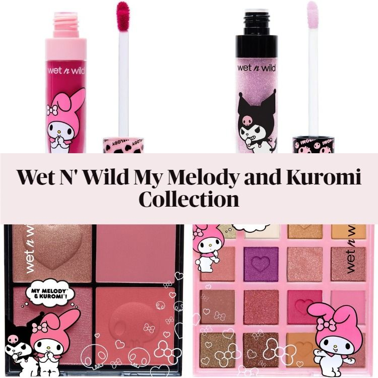 New! Wet N Wild My Melody and Kuromi Collection