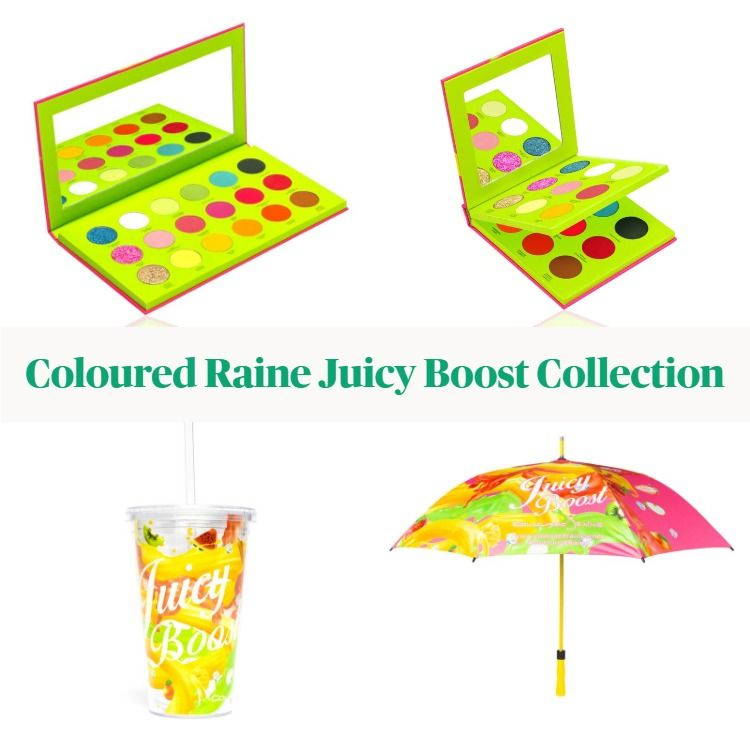 New! Coloured Raine Juicy Boost Collection