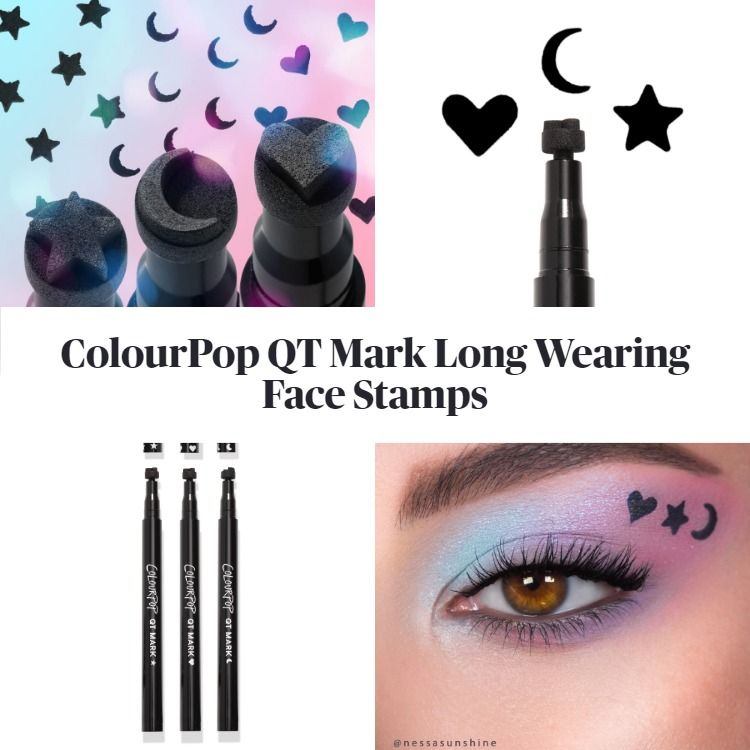 ColourPop QT Mark Long Wearing Face Stamps