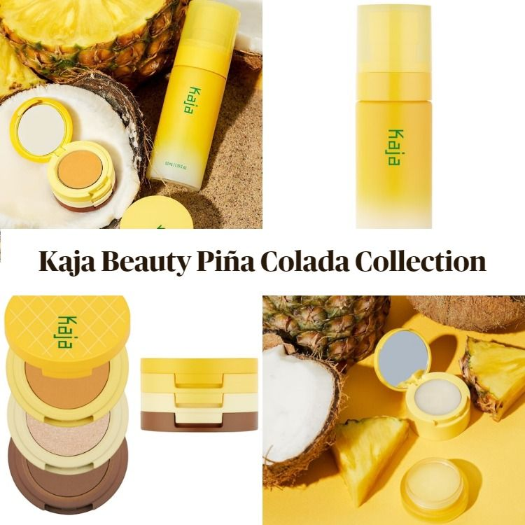 New! Kaja Beauty Piña Colada Collection