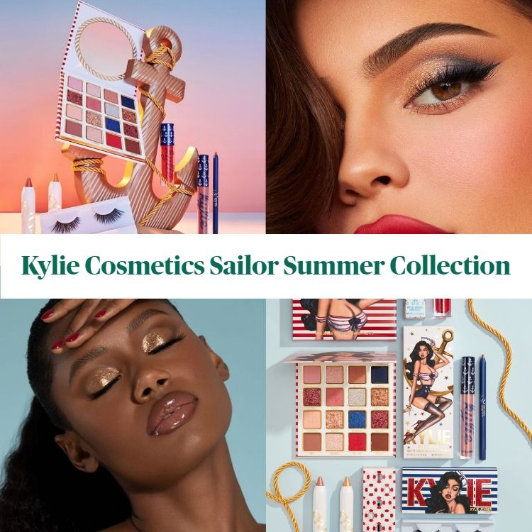 New! Kylie Cosmetics Sailor Summer Collection