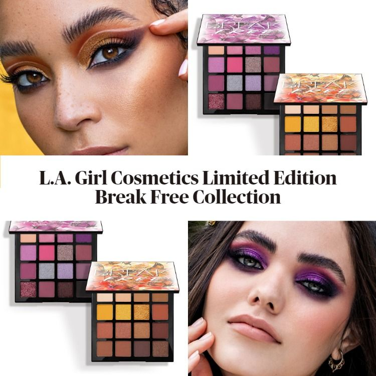 L.A. Girl Cosmetics Limited Edition Break Free Collection