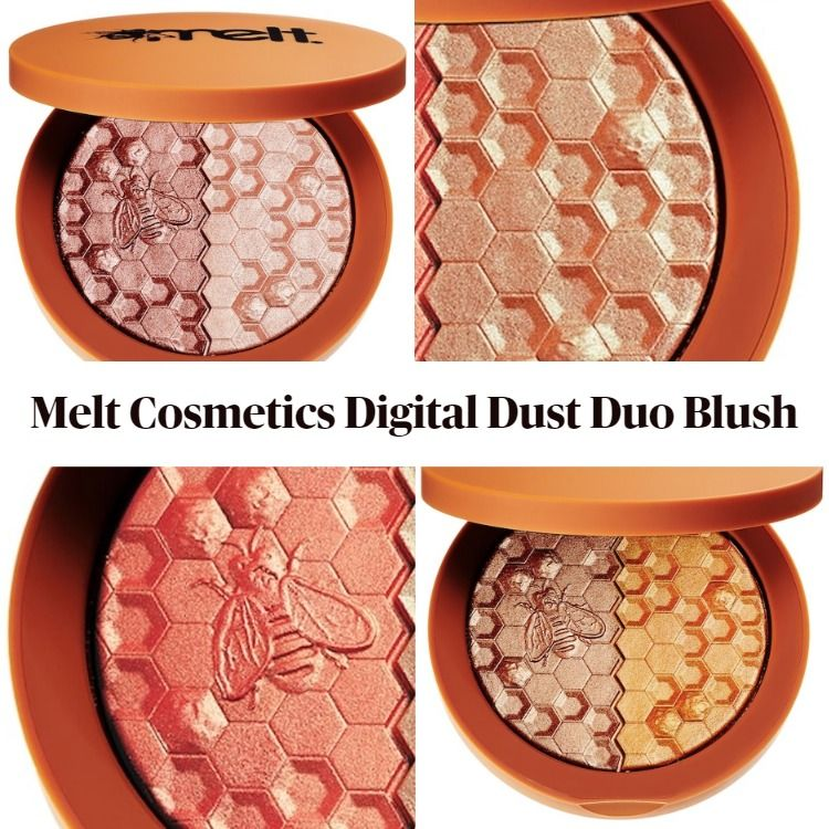 Sneak Peek! Melt Cosmetics Digital Dust Duo Blush