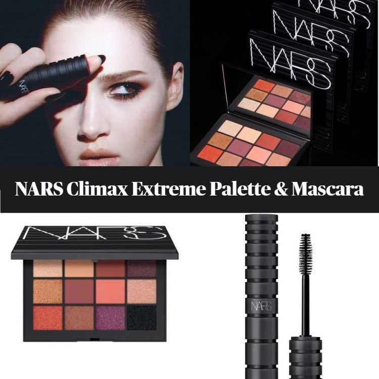 Sneak Peek! NARS Climax Extreme Eyeshadow Palette And Mascara